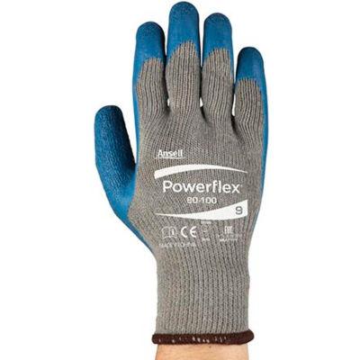 Powerflex® Latex Coated Gloves, Ansell 80-100-10, 1-Pair - Pkg Qty 12