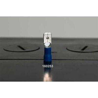 Quick Cable 160150-100 PVC Solderless Male Disconnect, 22-18 Gauge, 100 Pcs