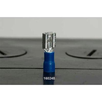 Quick Cable 160448-2010 PVC Solderless Female Disconnect, 16-14 Gauge, 10 Pcs