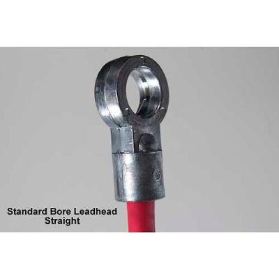 Quick Cable 214451-001 Black Standard Bore Leadhead, 2/0 Gauge, 1 Pc