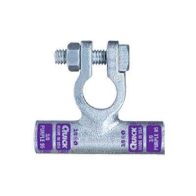 Quick Cable 4301-050P Flag Connector Crimp Positive, 1 Gauge, 50 Pcs