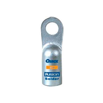 """Quick Cable 486310-005H 1/2"""" Heavy Duty Solder Lug, 1/0 Gauge, 5 Pcs"""