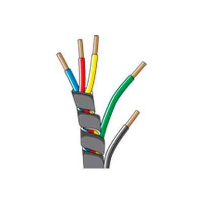 """Quick Cable 503154-100 Spiral Wrap Loom, 1/2"""" I.D., 100 foot roll"""