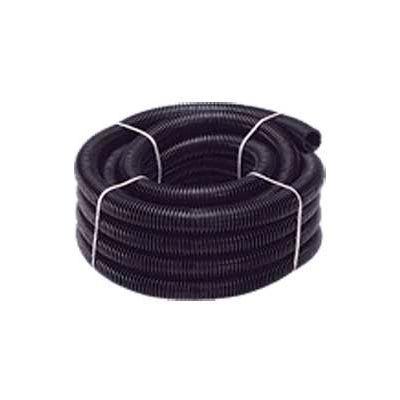"""Quick Cable 505208-100 Black Polythnene Split Loom, 1-1/2"""" I.D., 100 Ft"""