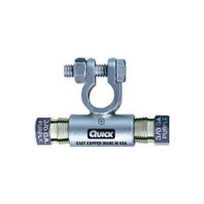 Quick Cable 5310-005N Negative Flag Compression Connector, 1/0 Gauge, 5 Pcs