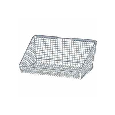 "Quantum Partition Wall System 1617HBC 17""Dx17-3/8""Wx7-3/8""H / Partition Hanging Basket"