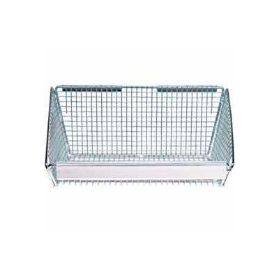 """Quantum Partition Wall System BLH3C 3"""" Clear Label Holder"""