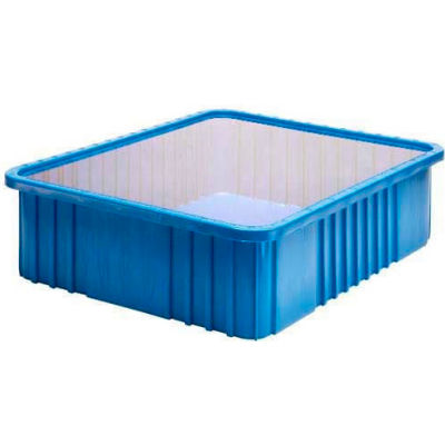 "Global Industrial™ Clear Dust Cover Inlays For 22-1/2""Lx17-1/2""W Dividable Grid Containers - Pkg Qty 3"