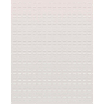 """Quantum Louvered Panel QLP-4861, 48"""" x 61"""", Oyster White"""