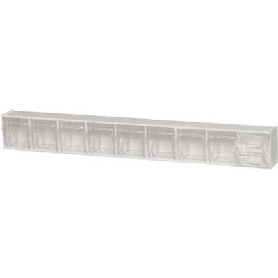 Quantum Tip Out Storage Bin QTB309 - 9 Compartments White