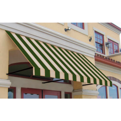 Awntech RR22-3SLCR, Window/Entry Awning 3-3/8'W x 2-9/16'H x 2'D Sage/Linen/Cream