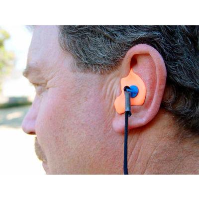 Radians®CEP001-B Custom Molded Earplugs, NRR 26dB, Blue, 1 Pair