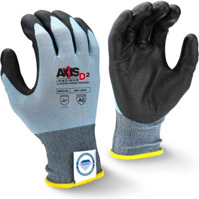 DeWalt® High Dexterity Textured Nitrile Grip Gloves, Black, L, 1 Pair DPG76L - Pkg Qty 12