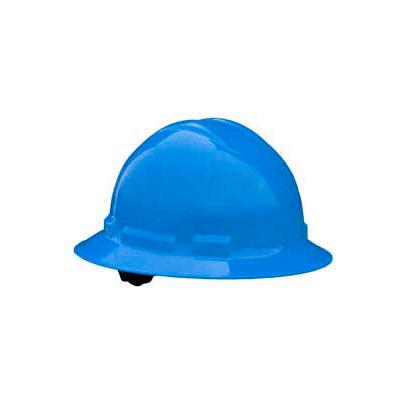 Radians QHR6 Quartz™ Full Brim Hard Hat, 6 Point Ratchet, Blue