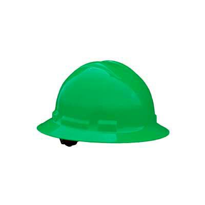Radians QHR6 Quartz™ Full Brim Hard Hat, 6 Point Ratchet, Green