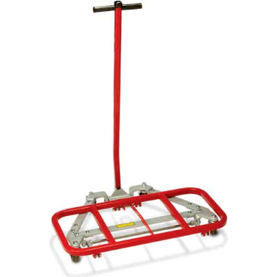 """Raymond Products 3500 Desk Lift - 3-1/2"""" Casters - 16"""" x 32"""" Lift Frame"""