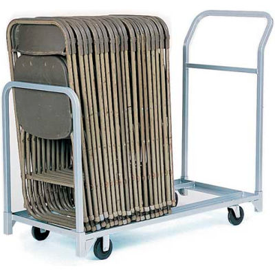 """Folding/Stacking Chair Truck, 52""""L x 23""""W, All Steel"""
