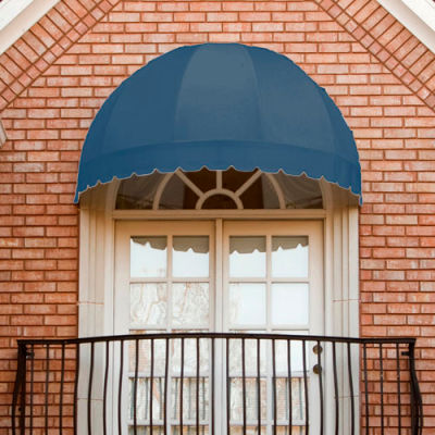 Awntech RB3-DB, Window/Entry Awning Dusty Blue 3-3/8'W x 1-11/16'D x 1-11/16'H
