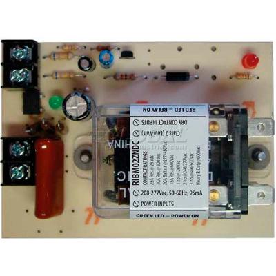 "RIB® Dry Contact Input Relay RIBM02ZNDC, Panel 4"" x 2.875"", 208-277VAC, 30A, DPDT"