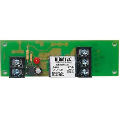 "RIB® Track Mount Relay RIBM12C, 4"", 15A, SPDT, 12VAC/DC"