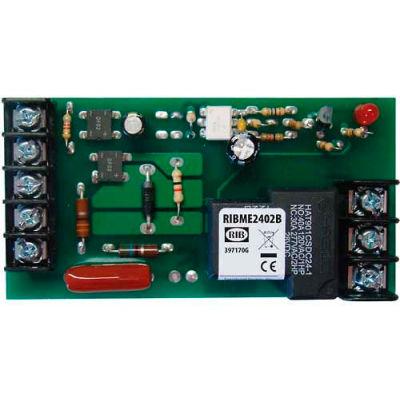"RIB® Panel Relay RIBME2402B, 4""x2.05"", 20A, SPDT, 24VAC/DC/208-277VAC Power, 5-30VAC/DC Control"