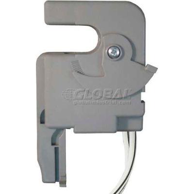 RIB® Enclosed Split-Core AC Sensor RIBXGHF, Fixed, 120VAC, .5-150A, Wire Leads