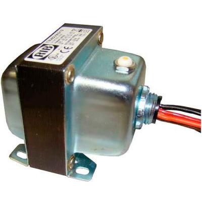 RIB® Transformer TR40VA013, 40VA, 208/240/277/480-120VAC, 1 Hub, Foot Mount, Circuit Breaker