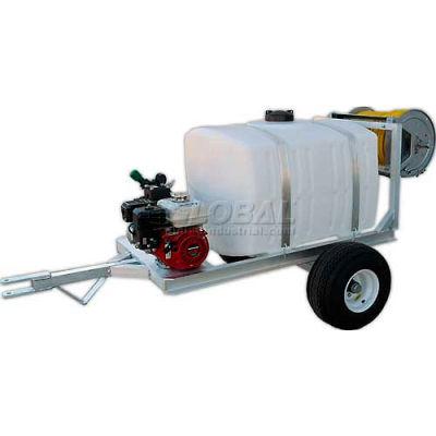 "100 Gallon 2-Wheel Trailer Sprayer, 5.5Hp / K25 Pump, 50' of 3/8"" Hose"