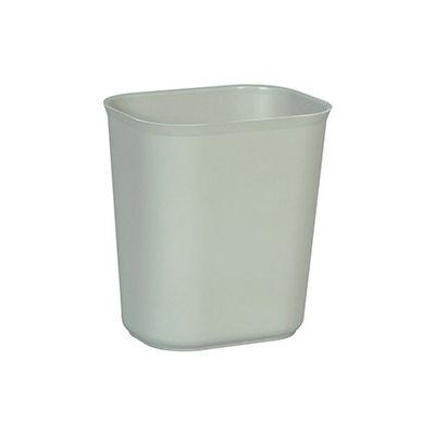 Rubbermaid® 14 Qt. Fiberglass Wastebasket, Gray - RCP2541GRA