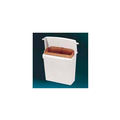 Rubbermaid® Wall Mounted Sanitary Napkin Receptacle - FG614000 WHT