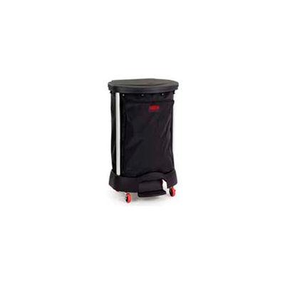 "Rubbermaid® 6350 Step-On Linen Hamper Bag 13-3/8"" x 19-7/8"" x 29-1/4"" PVC Lined, Black"