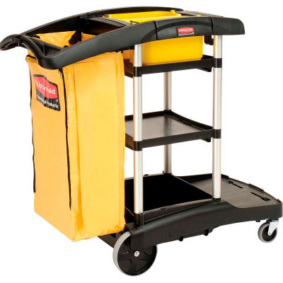 Rubbermaid® High Capacity Cleaning Cart 9T72