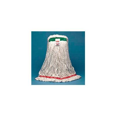 "Web Foot® Shrinkless® Wet Mop Heads - 5"" Headband - Pkg Qty 6"