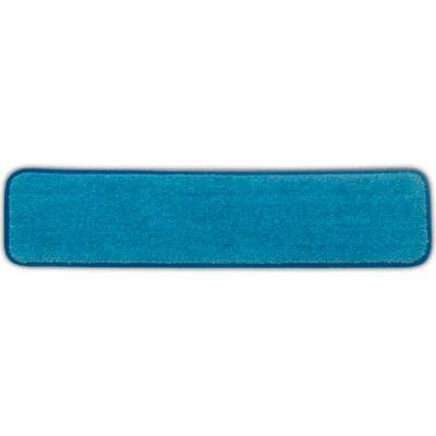 "Rubbermaid® 24"" Microfiber Wet Room Pad, Blue - Q411"