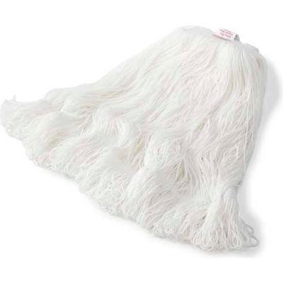 Rubbermaid® Medium Nylon Finish Mop Head, White 6/Pack - RCPT20006