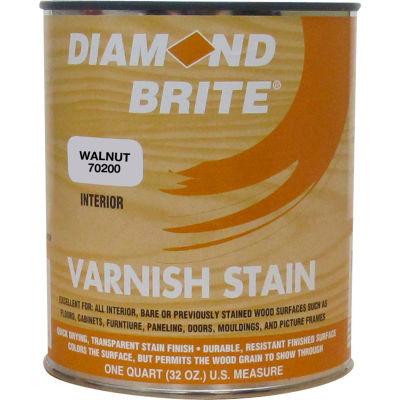 Diamond Brite Oil Varnish Stain Paint, Walnut 32 Oz. Pail - 70200-4