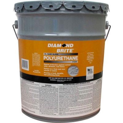 Diamond Brite Oil Gloss Polyurethane Paint, 5 Gallon Pail 1/Case - 71000-5