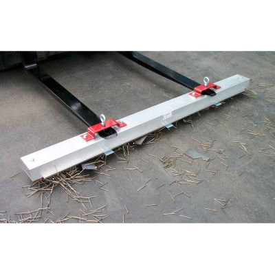 """AMK Magnetics Double Strength Load Release RoadMag Sweeper, 36""""W, RDS-36LR"""