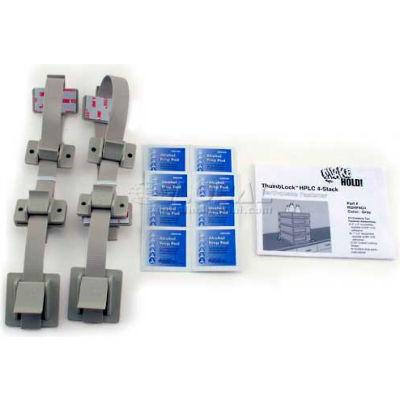 QuakeHold!™ HPLC 4-Stack Fastener Kit, RDHP4G1, Gray