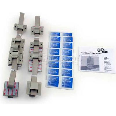 QuakeHold!™ HPLC 8-Stack Fastener Kit, RDHP8G1, Gray