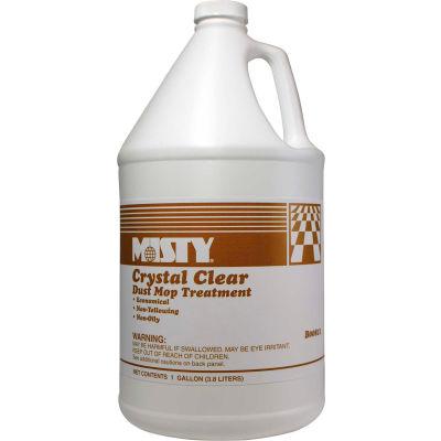 Misty® Crystal Clear Dust Mop Treatment, Gallon Bottle, 4 Bottles - 1003411