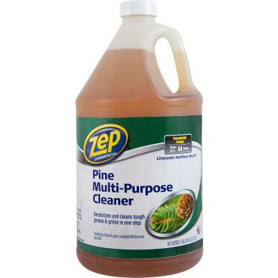 Zep® Commercial Pine Multi-Purpose Cleaner Concentrate,Gallon Bottle, 4 Bottles - ZUMPP128