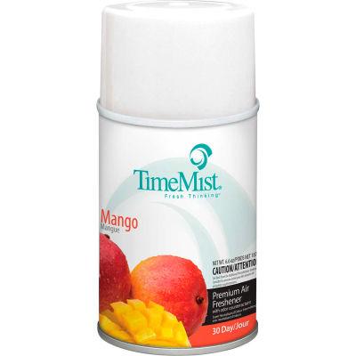 TimeMist® Premium Metered Air Care Refills, Mango - 6.6 oz. Can, 12 Cans/Case - 1042810