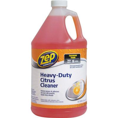 Zep® Commercial Heavy-Duty Citrus Degreaser, Gallon Bottle, 4 Bottles - ZUCIT128CA
