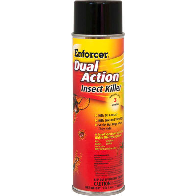 Enforcer® Dual Action Insect Killer - 16 oz. Aerosol Spray, 12 Cans - 1047651