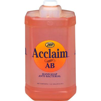Zep Acclaim Antibacterial Hand Soap, Floral Fragrance, Gallon Bottle - 314924