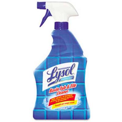 Lysol Disinfectant Basin/Tub/Tile Cleaner 32oz. Spray 12/Case - RAC04685CT