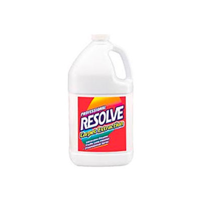 Resolve® Carpet Extraction Cleaner, Gallon Bottle, 4 Bottles - 97161