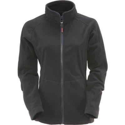 RefrigiWear Women's Fleece Jacket, Black, 30°F Comfort Rating, S