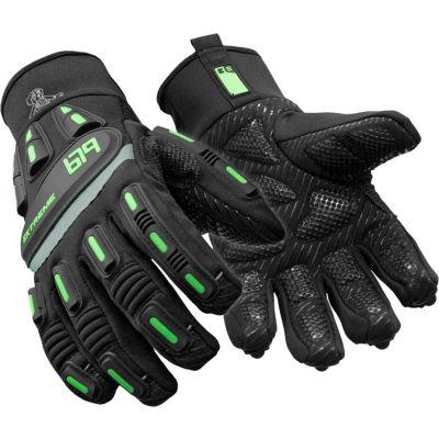 RefrigiWear® Exteme Freezer Glove, Black, -30° Comfort Rating, Large, 0679RBLKLAR
